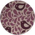 rug #585637 | round animal rug