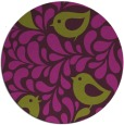 rug #585709   round purple rug