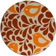 rug #585797 | round beige natural rug