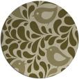 rug #585815 | round animal rug