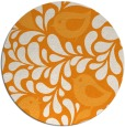 rug #585825 | round light-orange animal rug