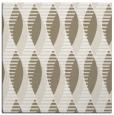 rug #586185 | square white retro rug