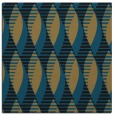 rug #586205 | square black retro rug