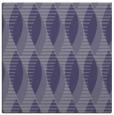 rug #586273 | square blue-violet retro rug
