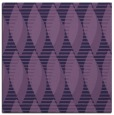 rug #586281 | square purple circles rug