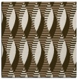 rug #586337 | square mid-brown graphic rug