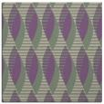 rug #586365 | square purple circles rug