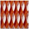 rug #586377   square orange graphic rug