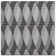 rug #586385 | square orange circles rug
