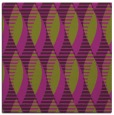 rug #586413   square purple circles rug