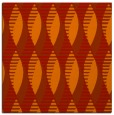 rug #586429 | square red graphic rug