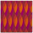 rug #586449   square red-orange circles rug