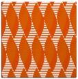rug #586453   square red-orange circles rug