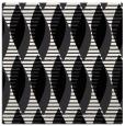 rug #586457 | square black graphic rug