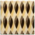 rug #586481   square brown retro rug