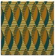 rug #586489 | square light-orange circles rug