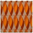 rug #586501 | square beige circles rug