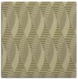 rug #586509 | square light-green circles rug