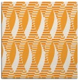 rug #586529 | square light-orange circles rug