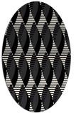rug #586544 | oval circles rug