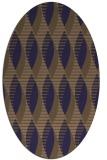 rug #586646 | oval circles rug