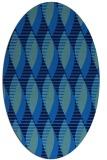 rug #586708 | oval circles rug