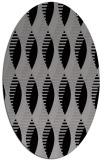 rug #586711 | oval circles rug