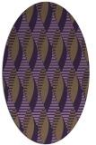 rug #586771 | oval circles rug