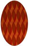 rug #586784 | oval popular rug