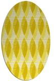 rug #586813 | oval white rug