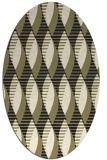 rug #586845   oval black circles rug