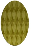 rug #586857 | oval light-green circles rug