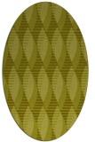 rug #586857 | oval light-green rug