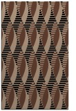 rug #586905 |  brown graphic rug