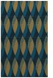 rug #586909 |  mid-brown retro rug
