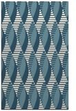 rug #586913 |  blue-green graphic rug