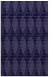 rug #586973 |  blue-violet circles rug