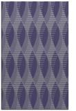 rug #586977 |  blue-violet circles rug