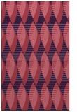 rug #586981 |  blue-violet circles rug