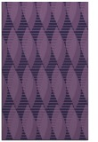 rug #586985    purple circles rug