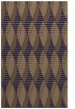 rug #586997 |  blue-violet circles rug