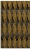 rug #587005 |  mid-brown circles rug