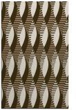 rug #587041 |  mid-brown circles rug
