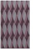 rug #587125 |  purple retro rug