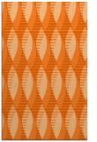 rug #587149 |  red-orange circles rug