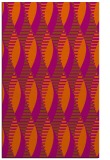 rug #587153 |  red-orange circles rug
