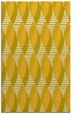 rug #587177 |  yellow circles rug