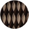 rug #587253   round black circles rug