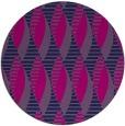 rug #587269 | round blue retro rug