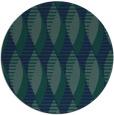 rug #587273 | round blue circles rug
